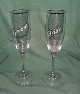 Bride-Groom-Flutes