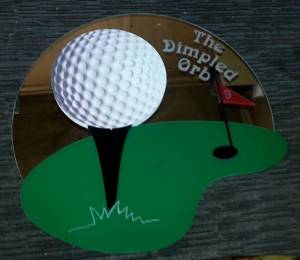 Dimpled-Orb-Golf-Project